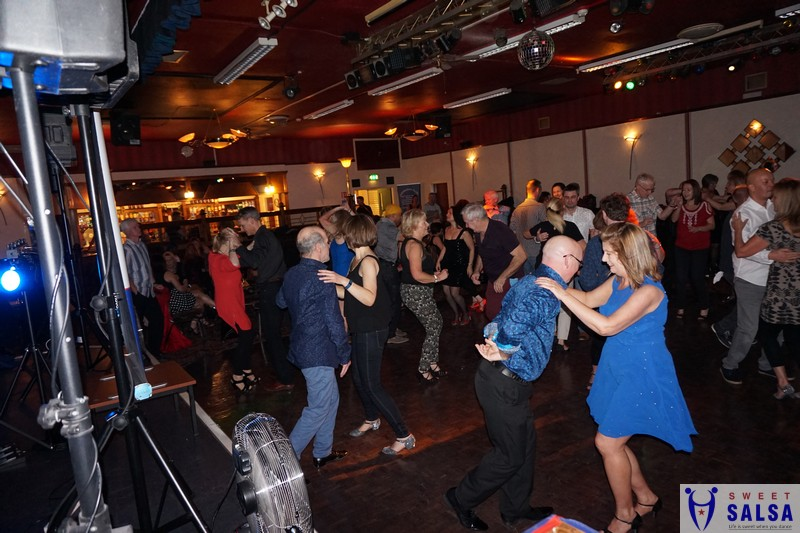 Salsa party January 2017 Canberra Club
