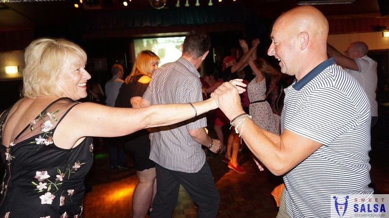 Salsa dancing in Preston