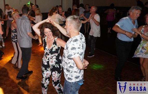 Dancing on the floor